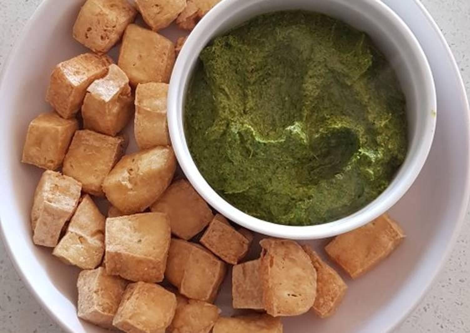 Mint Dips & Tofu