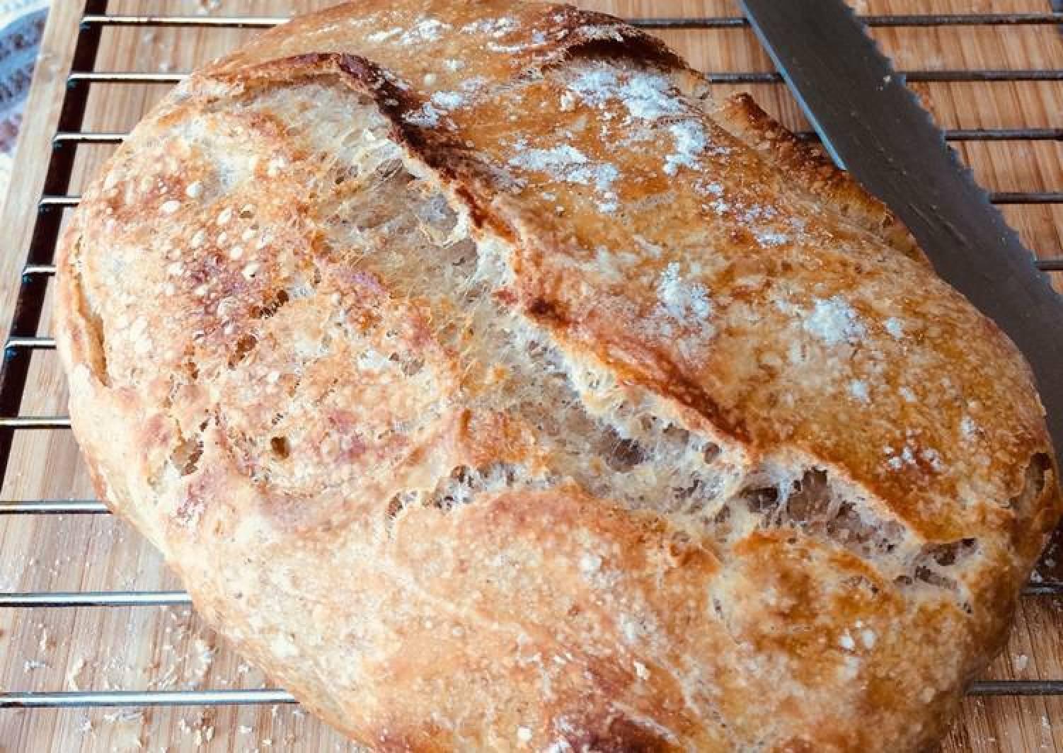 Sourdough bread levain (starter)
