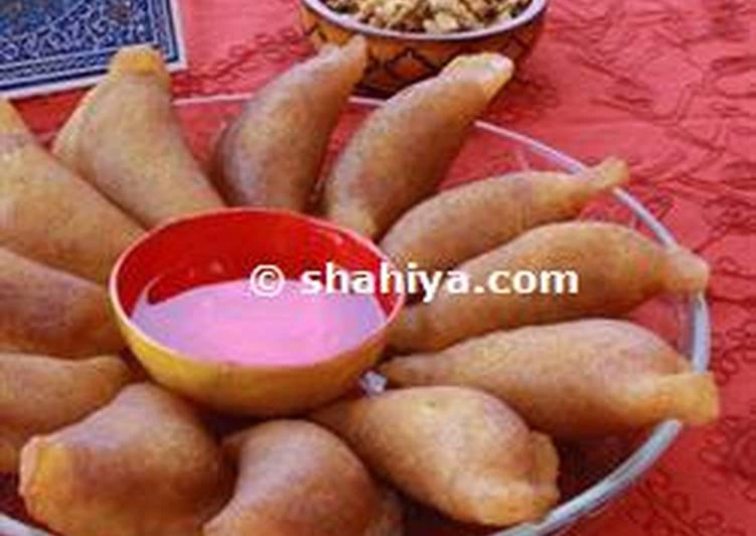 Atayef: Nut Stuffed Pancakes