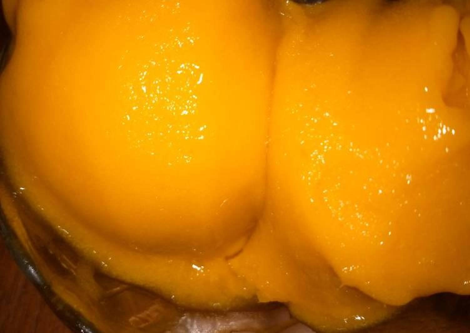 Tangy Mango Sorbet