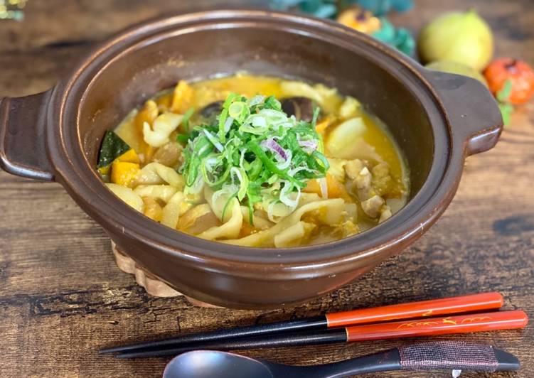 Houtou Udon Noodle with Pumpkin Miso soup