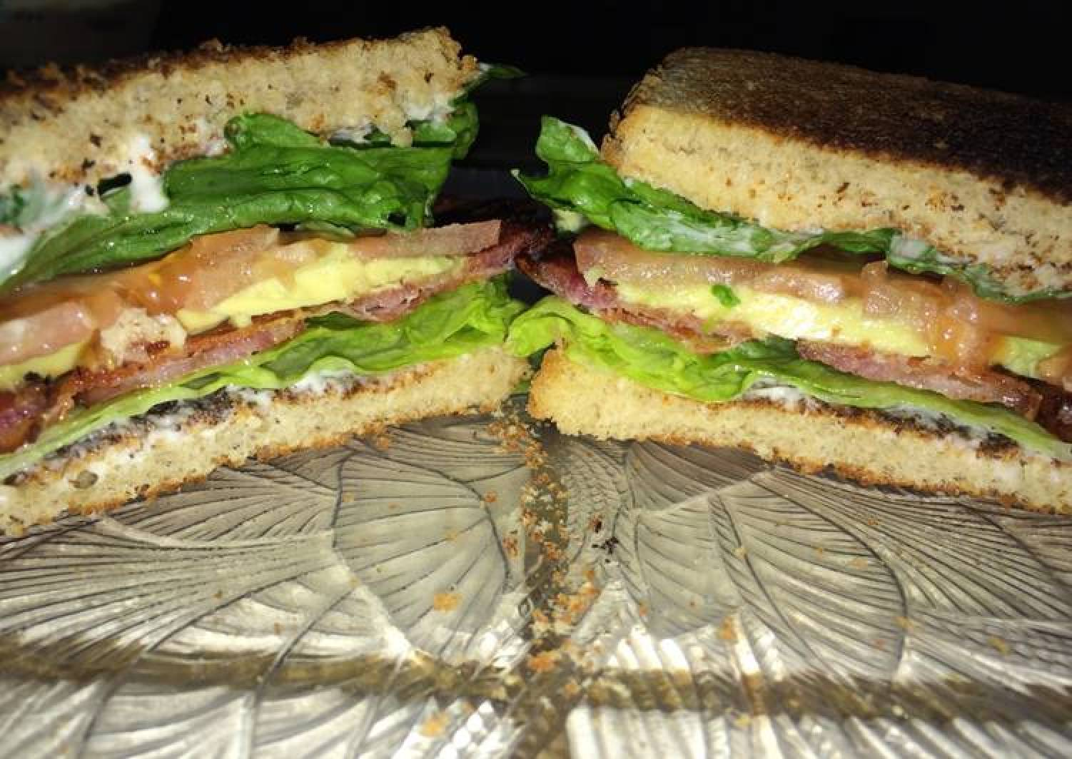 B.A.L.T.S. Bacon Avocado Lettuce Tomato Sandwiches