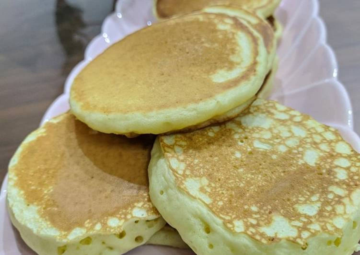 Fluffy pancake easy recipe