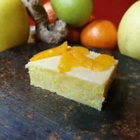 Brownie de mandarina