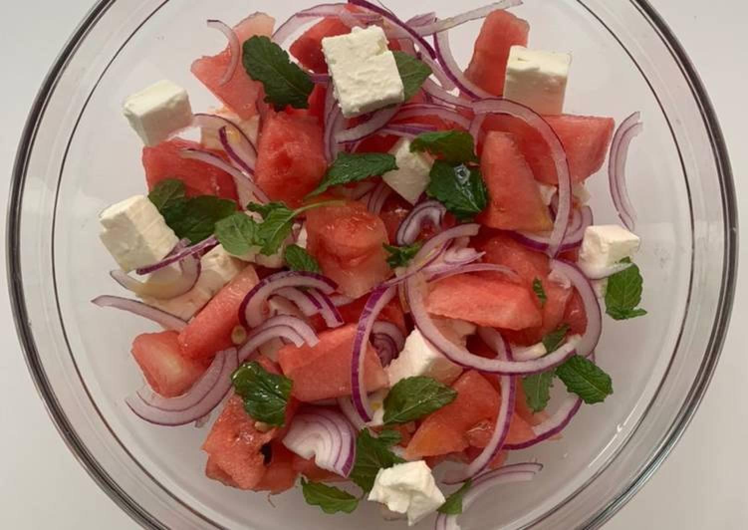 Feta Watermelon fresh Summer Salad