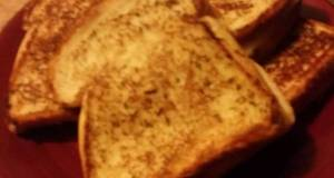 Grilled Garlic ham cheese sandwich