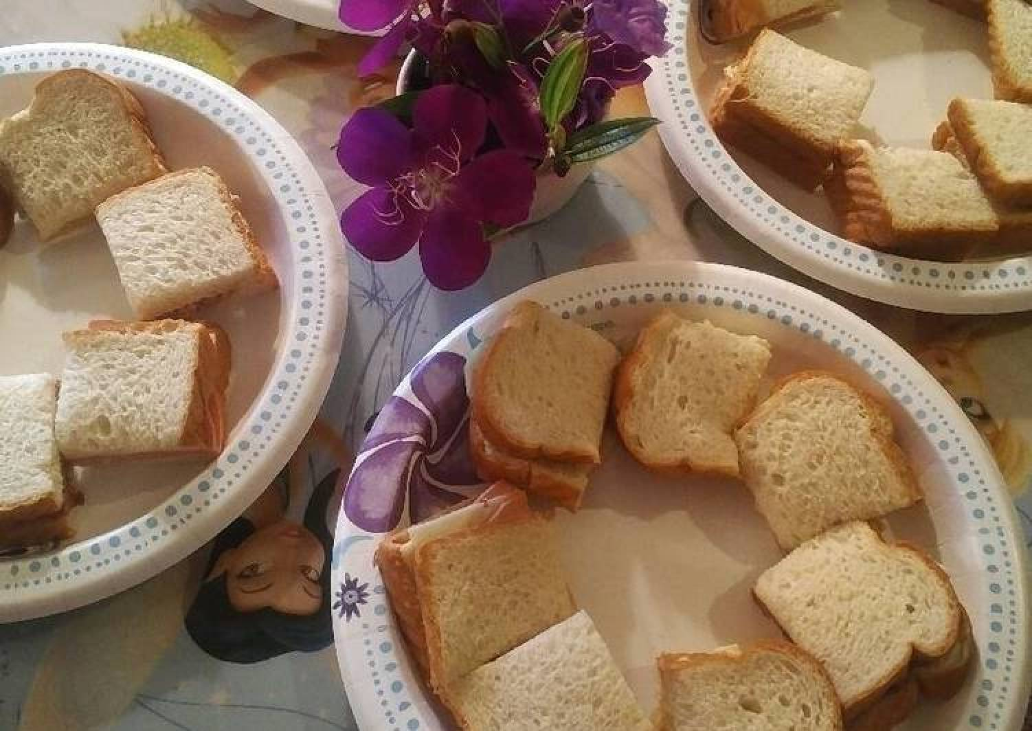 My Granddaughters Spring Sandwiches