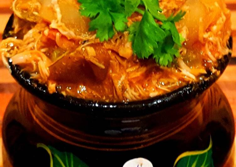 Mike's Southwestern Chicken Soup