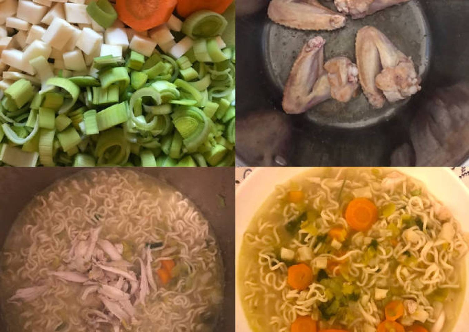Omas leckere schnell-gesund-werde Suppe