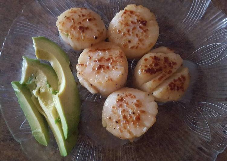 Easy Scallop Lunch