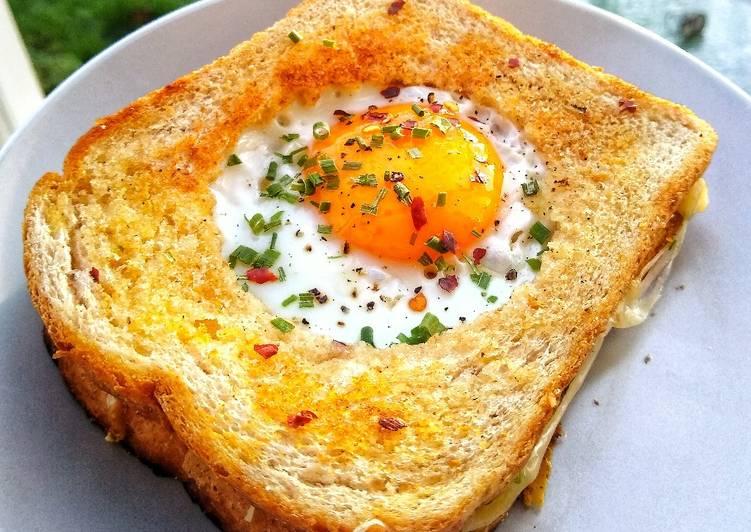 My Egg & Cheese Toastie
