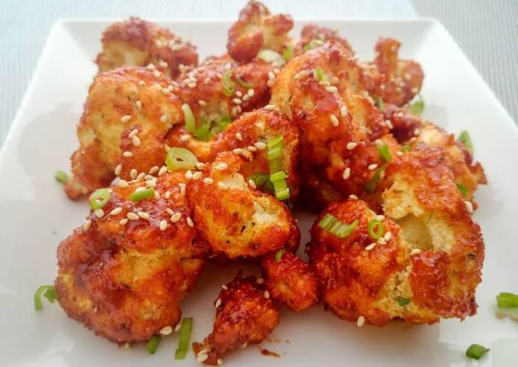 Vegetarian Korean Wings