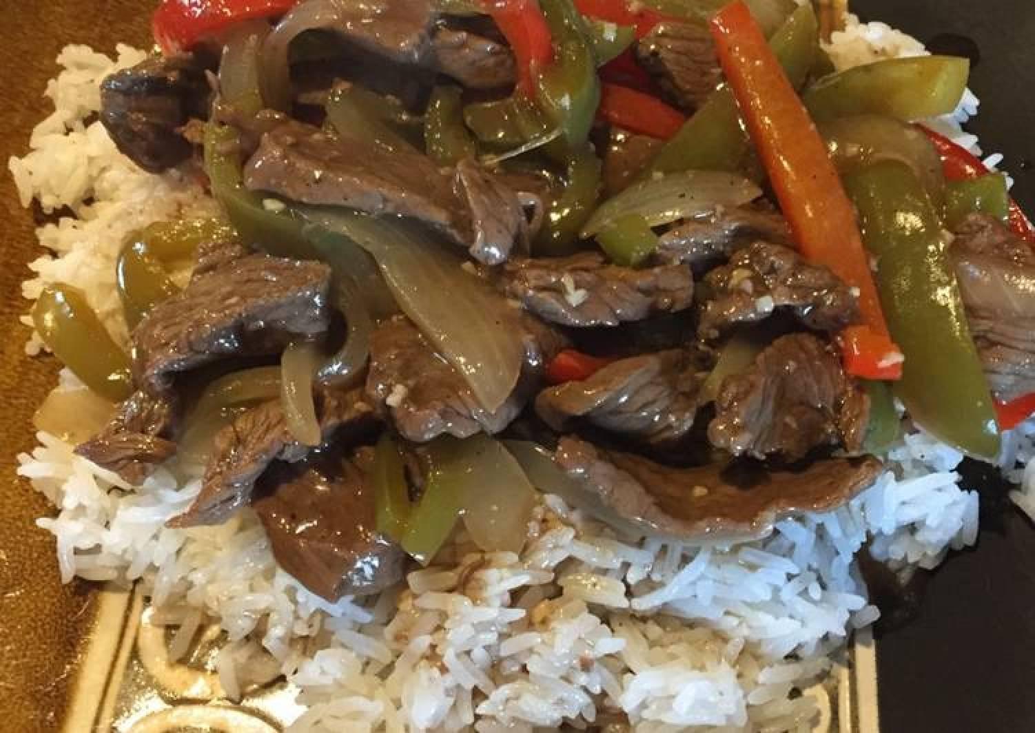 Bell Pepper Steak