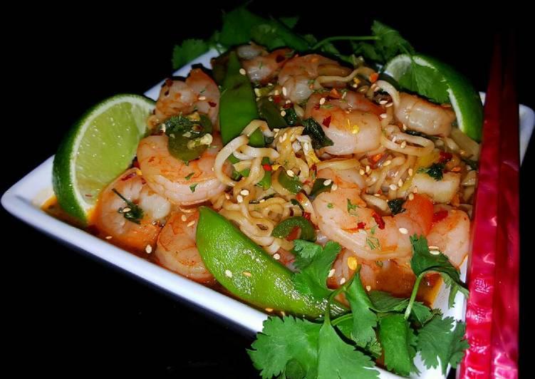 Mikes Spicy Thai Shrimp Ramen Noodles