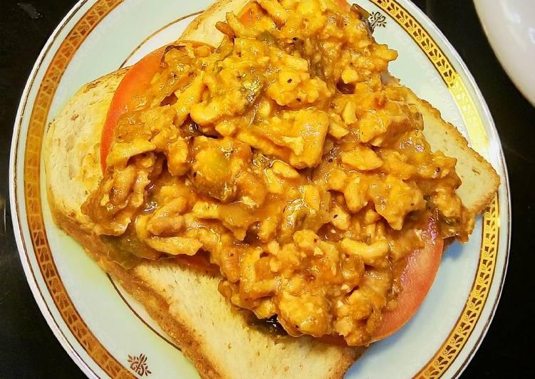 Recipe of Award-winning Simple Sloppy Joe Toppings on Toast (sandwich)