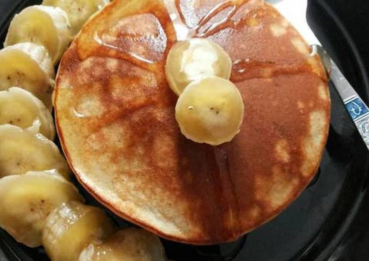 Whey Protein Banana Pancakes