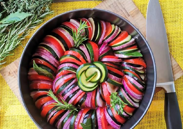 Tian de légumes à la provençal