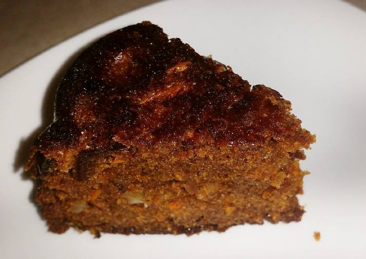 Carrot Date and Walnut Cake