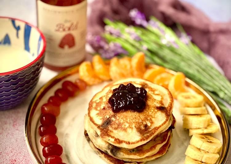 Buttermilk Pancake (Eggless)