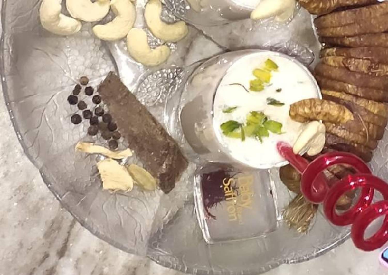  Creamy Kaju Anjeer Shake