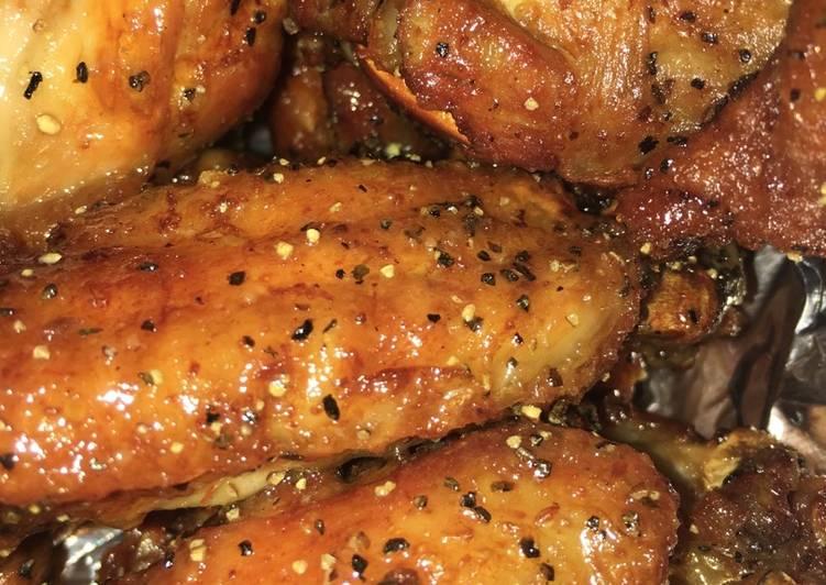 Chef Dee Lemon Pepper Tangy Wings