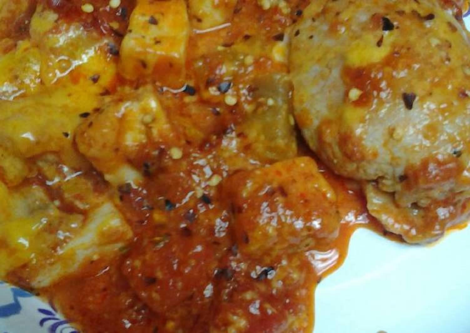 Eggplant casserole stove top