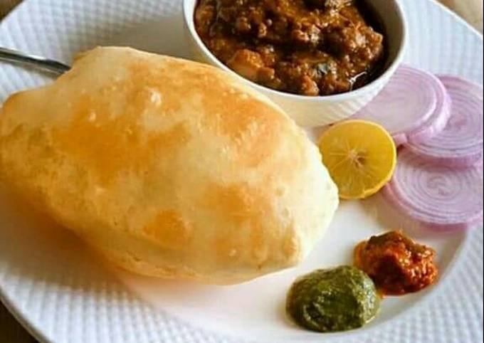 Step-by-Step Guide to Make Delicious Chole bhature