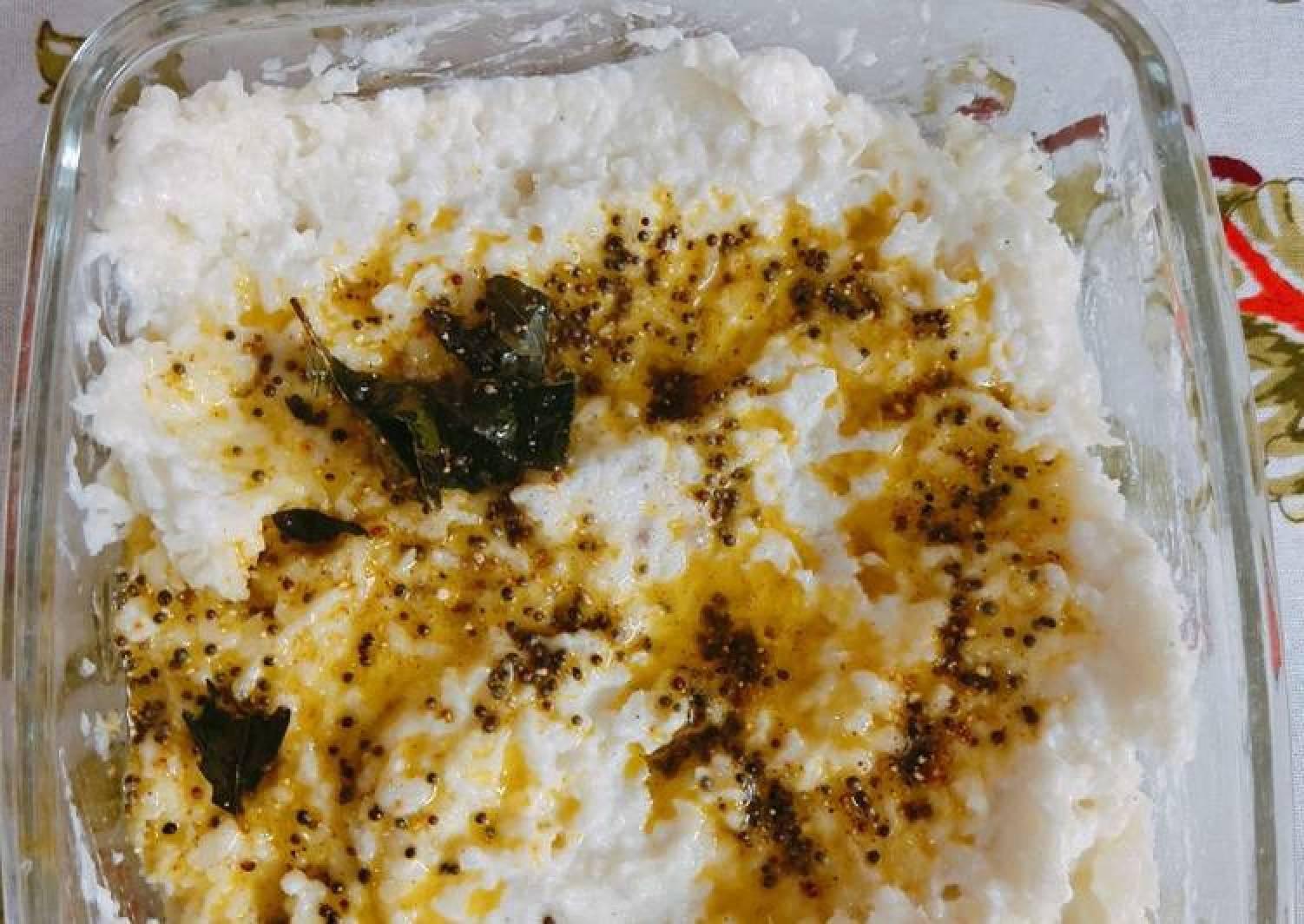 Curd Cauliflower rice