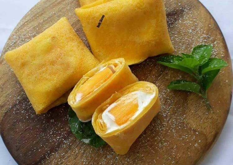 Simple Way to Make Favorite Mango Pancake