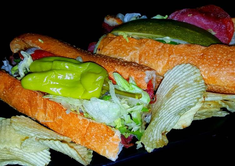 Mike's Classic Spicy Italian Subs