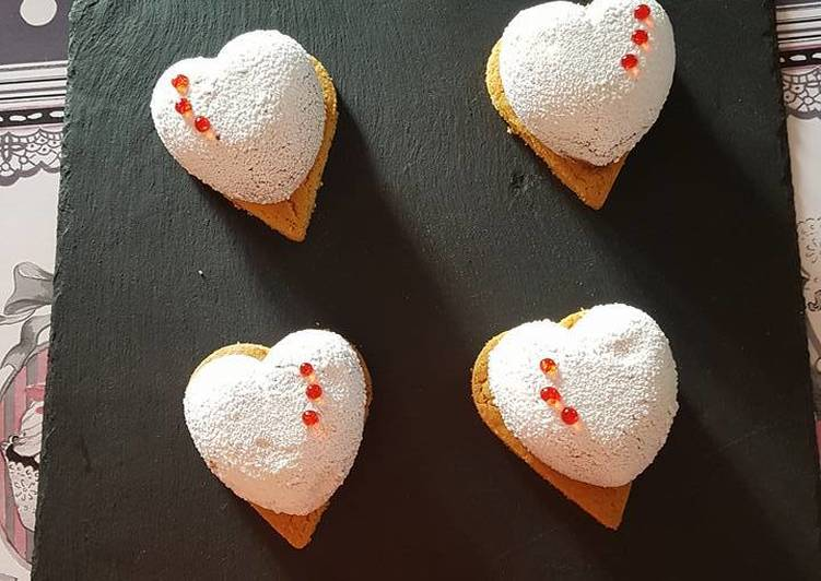 Entremets amour (coeur coulant)