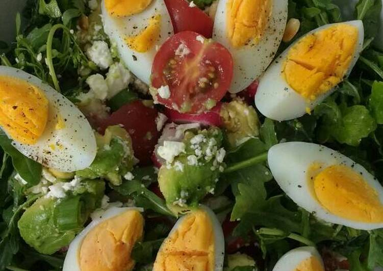 Keto salad for lunch