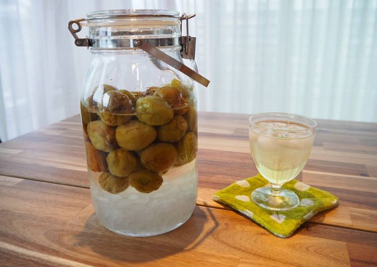 Step-by-Step Guide to Make Favorite Ume syrup - Japanese plum syrup (plum juice base)