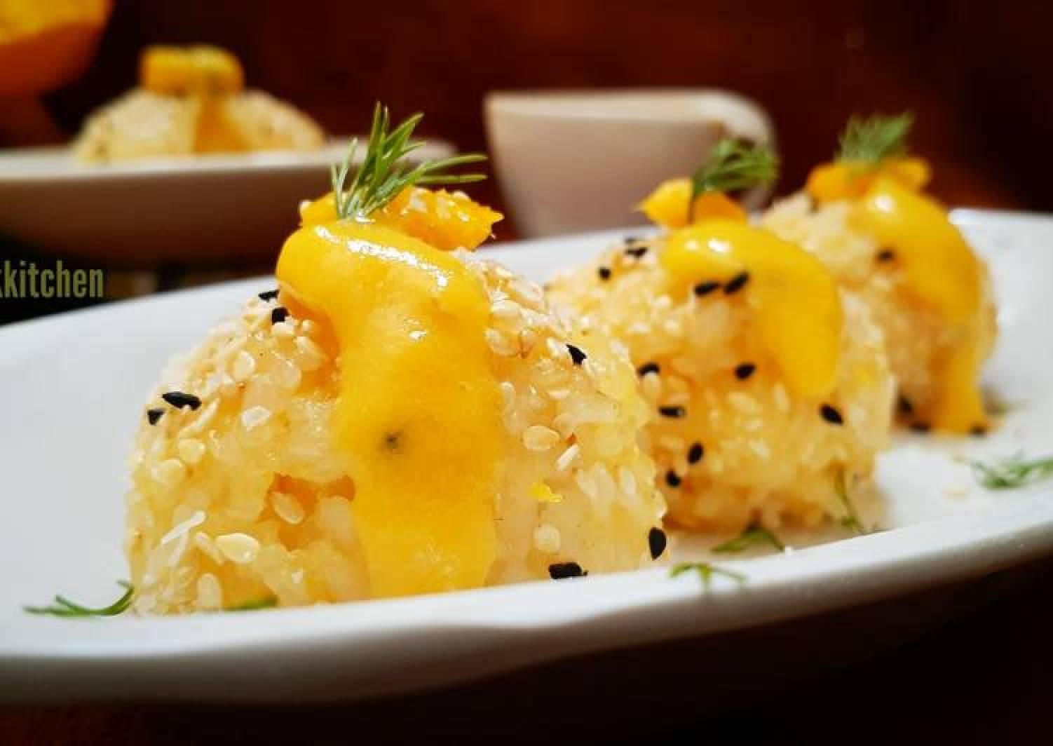 Mango Sushi Balls