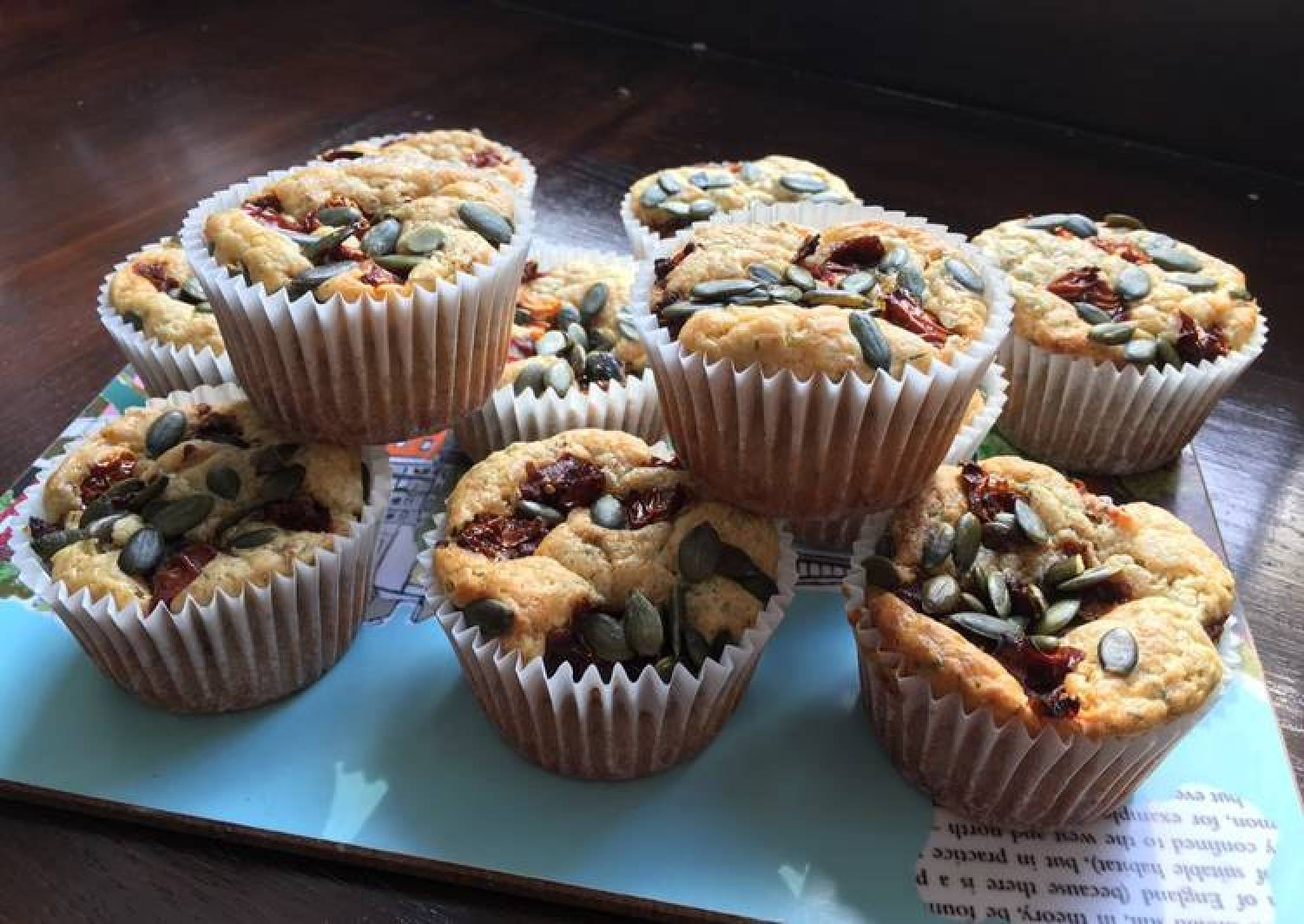 Feta and Dill muffins