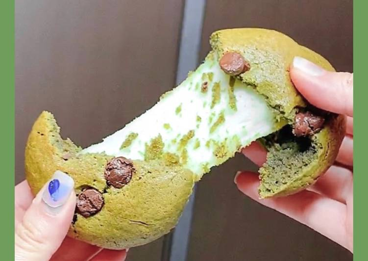 Matcha Mochi Cookie🍪🥰