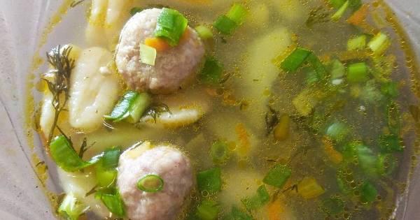 Суп с фрикадельками, рецепты с фото (1 140 пошаговых ...