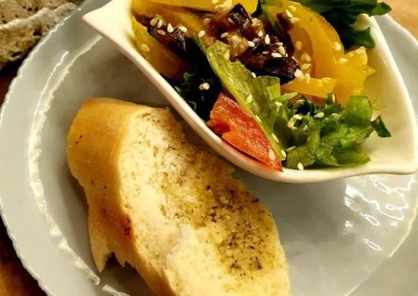 Баклажанный салат в ореховом соусе😋 - пошаговый рецепт с ...