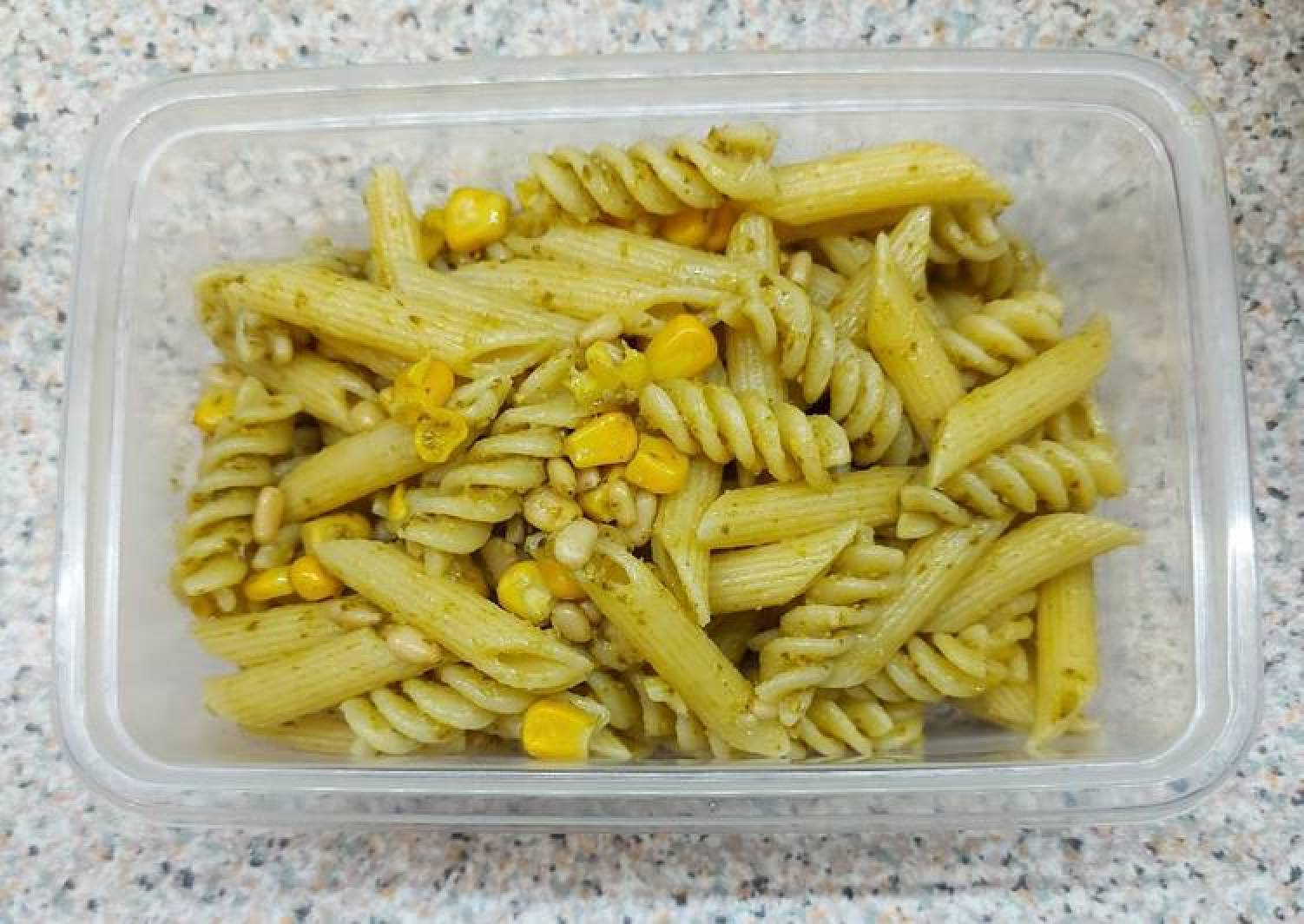 Easy Vegan Pesto Pasta