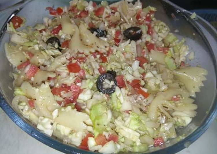 Steps to Make Perfect Pasta Salad