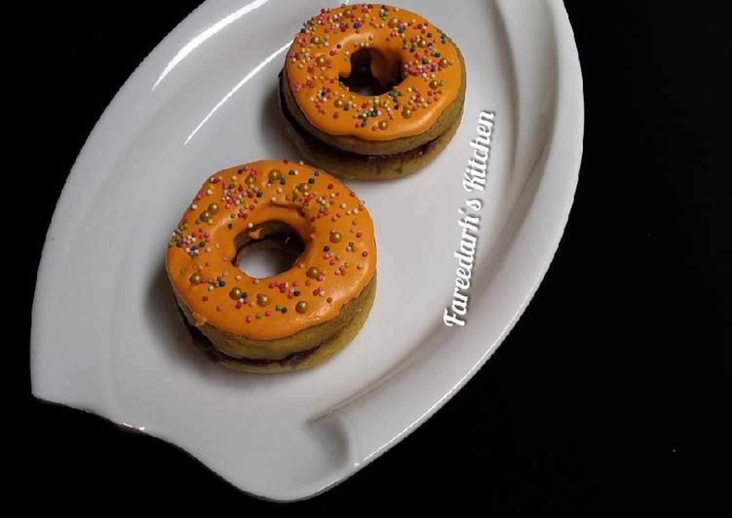Donut Shortbread Cookies