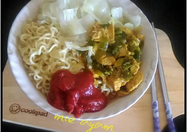 Topping Ayam untuk Mie Ayam