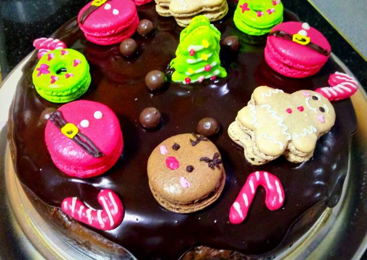 Steps to Prepare Homemade Chocolate cheesecake