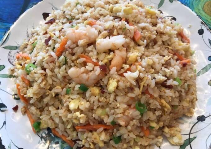Bacon & Shrimp Fried Rice