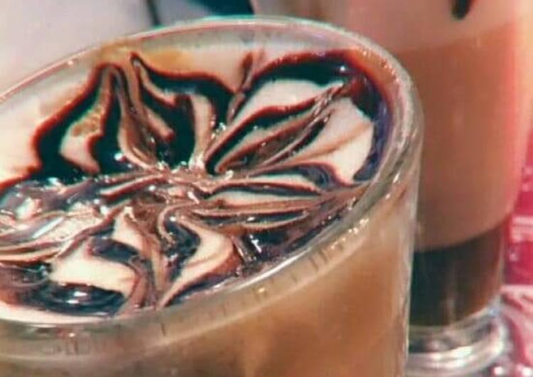 Recipe of Super Quick Homemade Chocolate milkshake