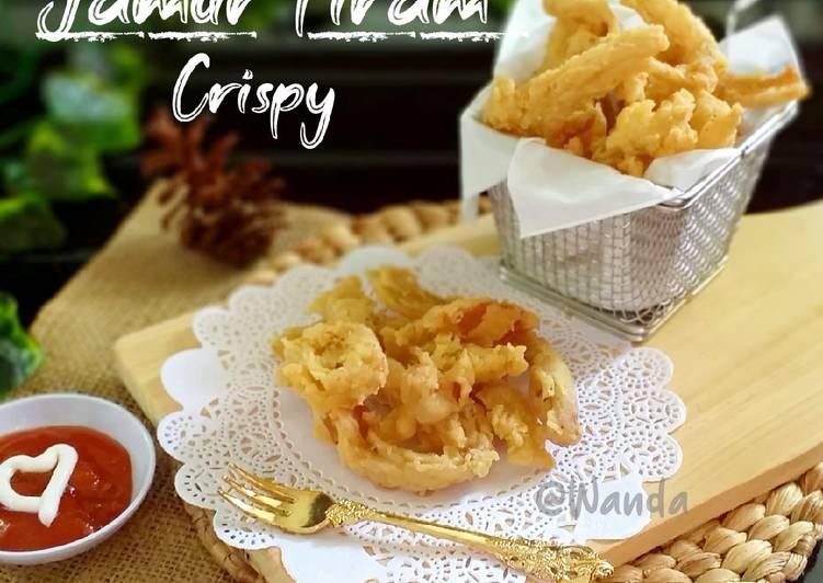 Jamur Tiram Crispy (Kriuk kres kres)