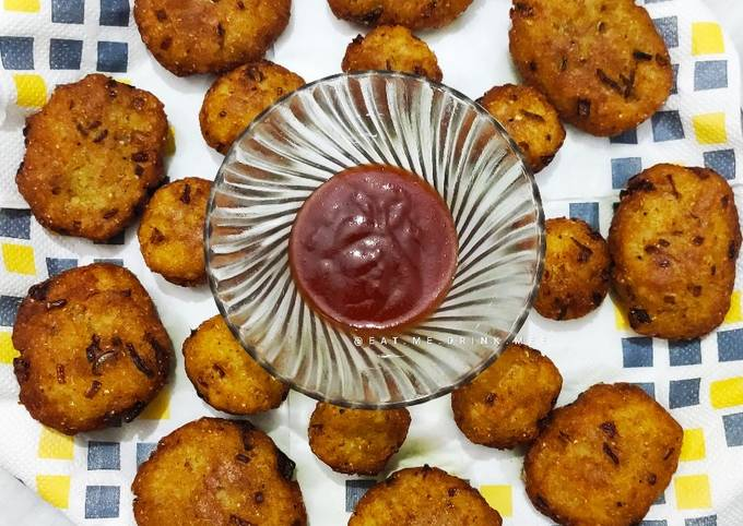 Simple Way to Prepare Homemade Poha Aloo Cutlets and Balls