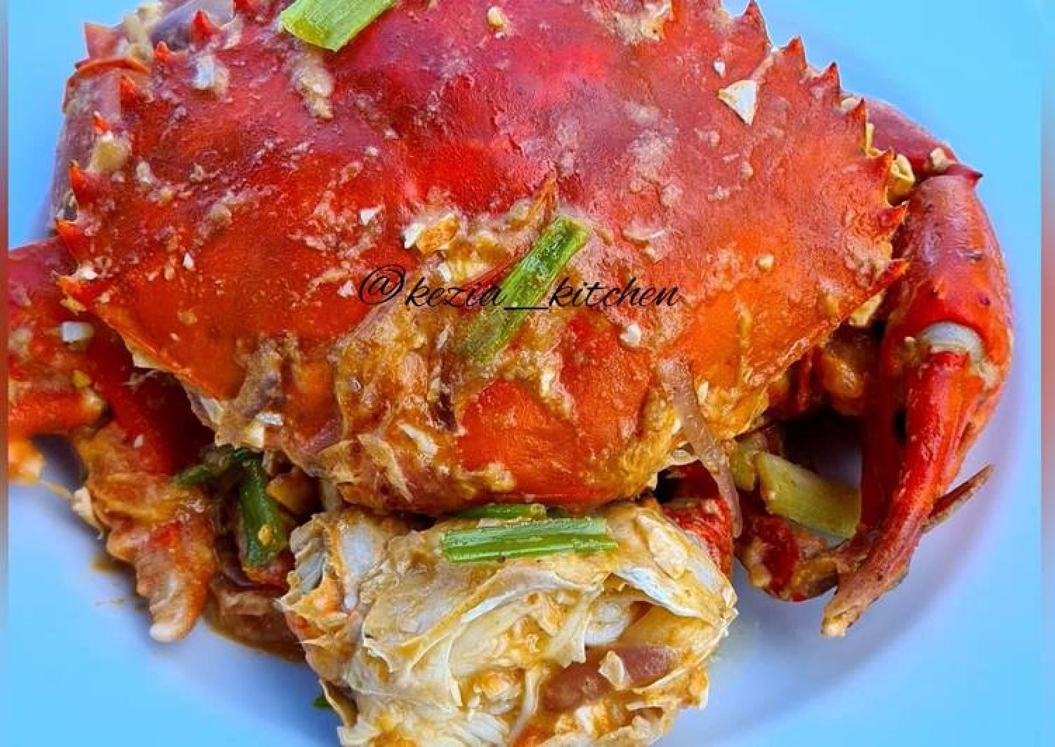 Kepiting Telur Asin (Crab in Salted Egg)