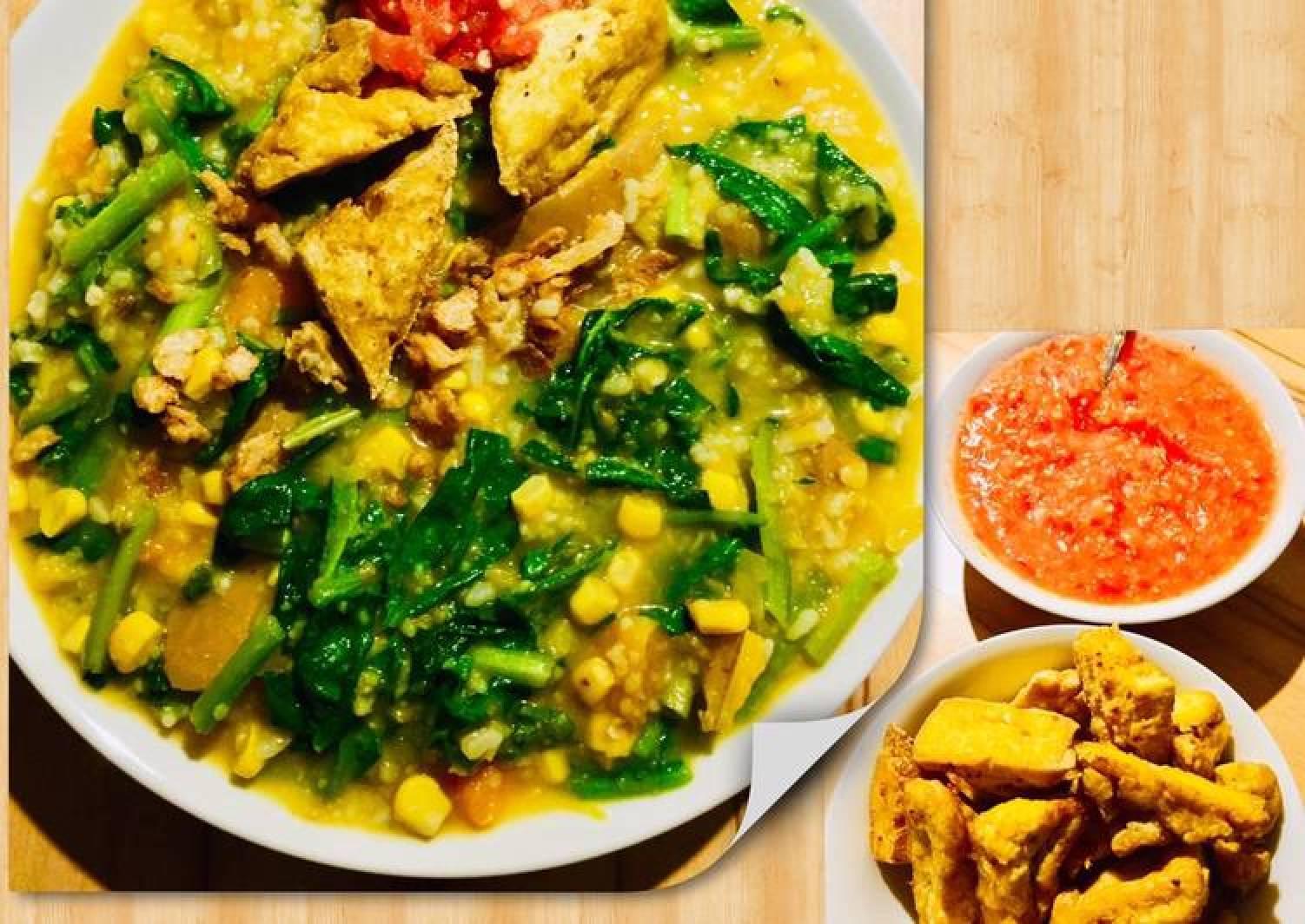 Recipe Of Quick Bubur Manado Tinutuan In English Indonesian Language Best Recipes