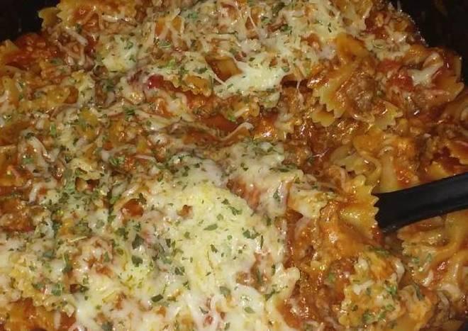 Homemade Hamburger Helper - Lasagna Style
